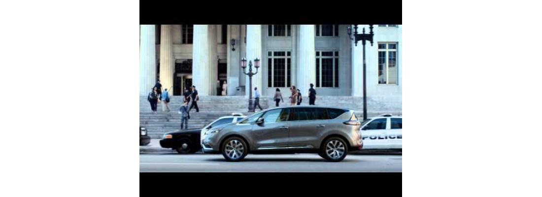 Le temps vous appartient avec Nouveau Renault ESPACE et Kevin Spacey