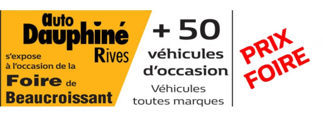 AUTO DAUPHINE RIVES à la FOIRE DE BEAUCROISSANT